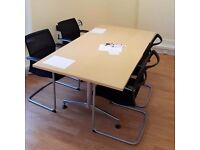 Stratford office space offering a modern reception, offices and meeting room - From £200pcm.