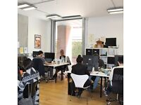 Office space in the heart of Shoreditch, chance to join a dynamic community of entrepreneurs