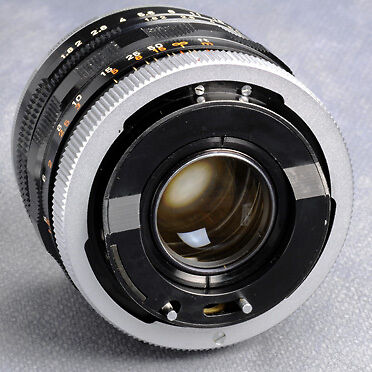 Canomatic Lens mount R - one in-out and one sliding pin