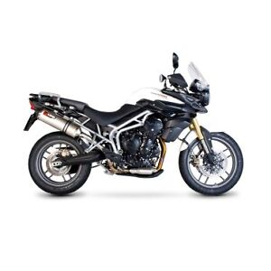 Triumph Tiger 800 Slip on Exhaust by Scorpion