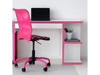 IKEA MICKE desk with chair