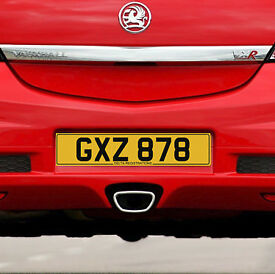 GXZ 878 – Price Includes DVLA Fees – Cherished Personal Private Registration Number Plate