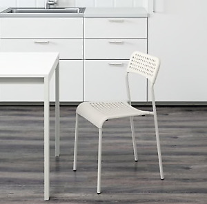 Chair White - range of uses, kitchen, office, bedroom, study
