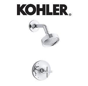 NEW* KOHLER SHOWER FAUCET TRIM - 133194058 - PURIST RITE TEMP PRESSURE BALANCING POLISHED CHROME