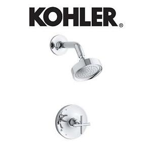 NEW KOHLER SHOWER FAUCET TRIM - 125074942 - PURIST RITE TEMP PRESSURE BALANCING POLISHED CHROME