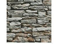 Brick wallpaper 1 role