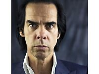 2X Nick Cave & The Bad Seeds Tickets - Bournemouth - 24/09 (Seated)