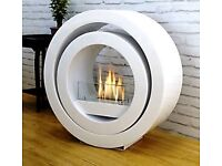 Beautiful live fire without the need for a chimney. Only selling because of house move.