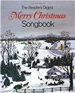 Readers Digest Christmas Song Book for Sale