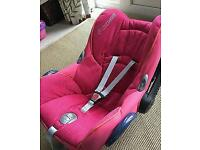 Maxi cosi car seat ~ hood~ instructions