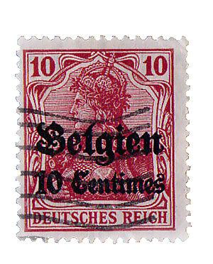 Ratgeber über Briefmarken der Deutschen Feldpost aus dem 1.Weltkrieg