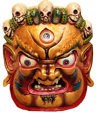 Chinese Nuo opera Decor Mask/ Chinese Nuo opera Decor Mask ...