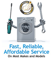 DRYERS WASHERS REPAIR + MORE WITH A 100% SATISFACTION RATE