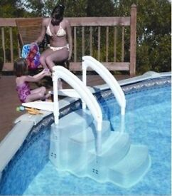 AWESOME SWIMMING POOL STEPS HALF PRICE!!