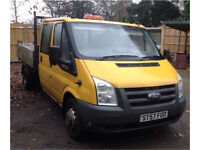 Ford transit tipper , double cab 115,