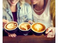 Looking for international people to meet for a coffee/ chat or just hang out :)