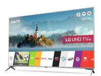 LG 55 Inch Smart 4K Ultra HD TV with HDR