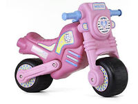 used Molto Cross girls motorbike/ride on - PINK. Collection from Langley Moor.