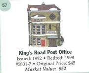 Dept 56 Kings Road Post Office