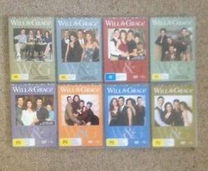 WILL & GRACE SEASONS 1 TO 8 COMPLETE Shortland Newcastle Area Preview