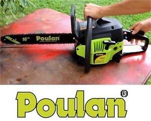 "NEW POULAN 16"" 38cc GAS CHAIN SAW CHAINSAW HOME OUTDOOR POWER TOOL EQUIPMENT  85402982"