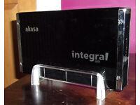 External Hard Drive and Enclosure for IDE and SATA drives