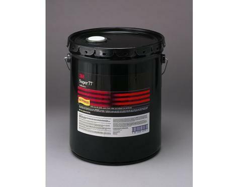 3M Super 77 Spray Adhseive - 5 Gal Pail