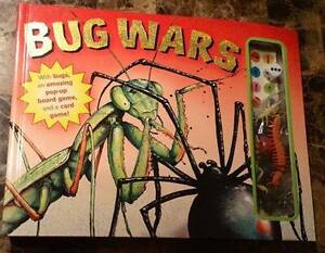Bug Wars Game / Book - new