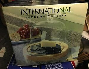 International Supreme - 3pc Cutlery Cheese Serving Set