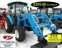TRACTOR,LS,4140,HYD,4X4,MONCTON