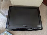 TV with built in DVD player + standalone DVD player