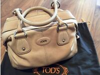 TOD'S Leather Bag Off Pink/Salmon Colour