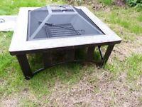 La Hacienda Edenton Firepit Table