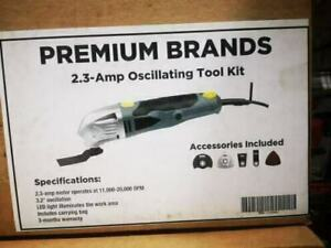 2.3A Oscillating Tool Kit