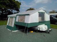 Pennine Aztec 4 Folding Camper Excellent Condition