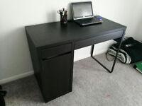 Office work desk - Black IKEA Design