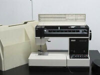 Pfaff Tipmatic 1027 -serviced- great sewing machine for leather, silk etc