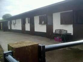 Livery / stable available