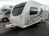 2011 Swift Conqueror 530 Caravan with many extras