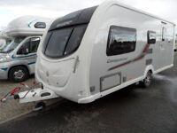 2011 Swift Conqueror 530 T6D Caravan with many extras