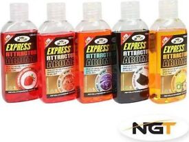 Express attractor aroma for carp fishing