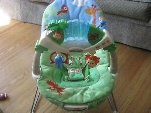 Fisher Price Rainforest Bouncy Chair Seat