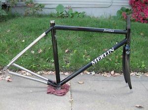 55cm-Merlin-Fortius-Titanium-Ti-Frame-Frameset-Road-Bike-Carbon-Fork