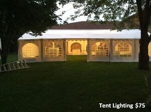 Wedding Tents for Outdoors, Tables, Chairs, Lighting for rent Cambridge Kitchener Area image 9