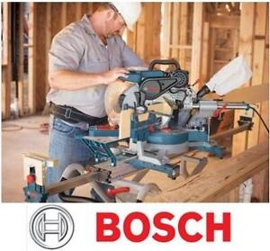 """NEW BOSCH SLIDE MITER SAW 12"""" - 127906342 - DUAL BEVEL  Home Tools Power Tools Saws Mitre Saws"""