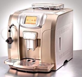 ME 712 DIGITAL TOUCH BEANS TO CUP COFFEE MACHINE RRP £545 DISCOUNT PRICE