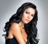 Get lovely hair extension @780-907-7667