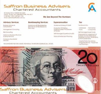 "Accounting & Tax ""Saffron Business Advisers"""