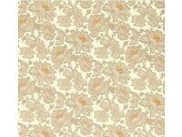 Laura Ashley Tamara Copper beige wallpaper 1 roll