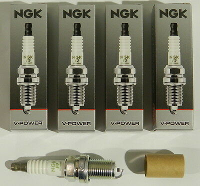 NGK Qty 4 ZFR5F-11 2262 V-Power Racing Spark Plug ()